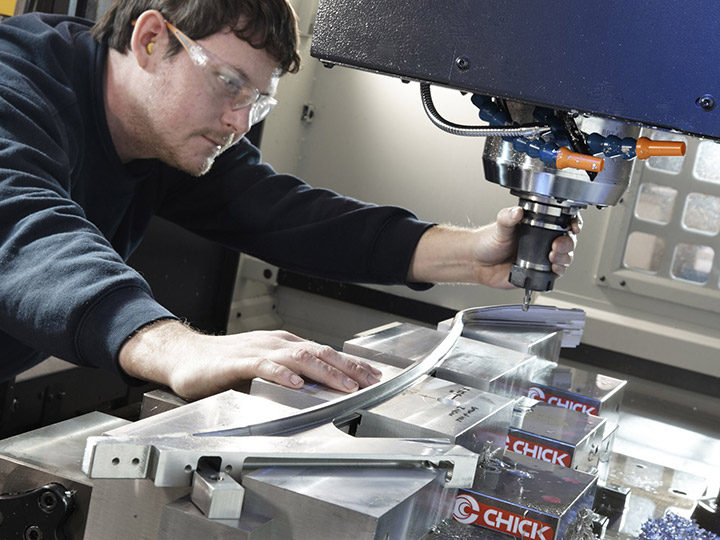 Machining for the aircraft seating industry