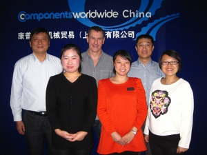 Our team in China