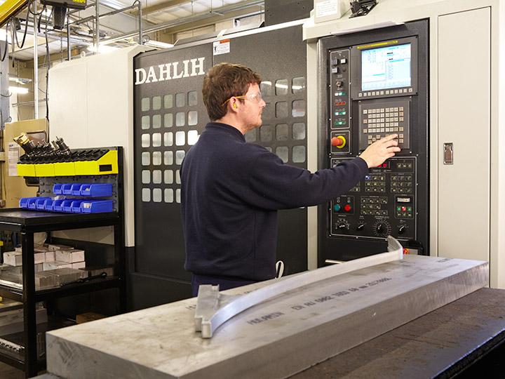 CNC Milling complex shapes