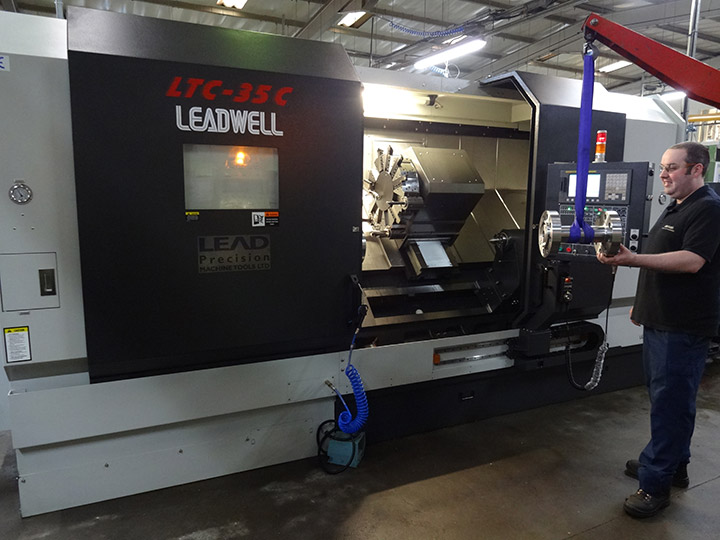 Heavy duty CNC Turning Leadwell LTC35C