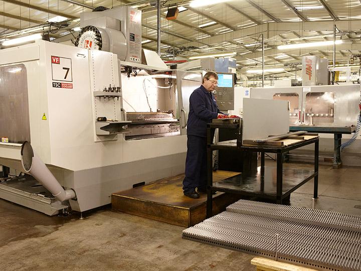 CNC Rack Milling