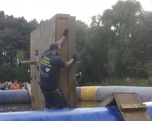 Eddie traversing the Punch Wall