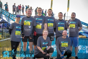 Mini Gears Galacticos at start of Rough Runner
