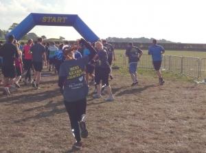 Start of Rough Runner