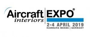 Aircraft Interiors  2019 logo