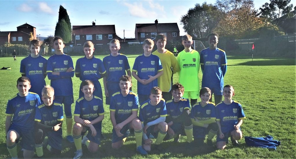 Mini Gears sponsors Denton Youth Football Team